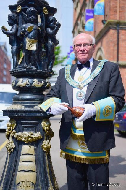 Provincial Grand Master, R.W. Bro John Dickson Announcement