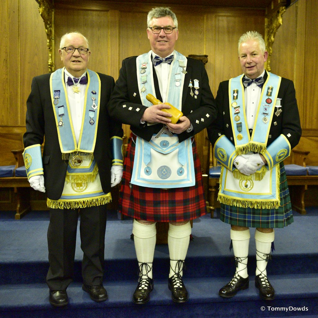 Magheramorne Masonic Lodge No 514, Larne's Premier Lodge, Installation of Officers