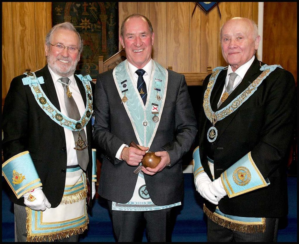 Parkgate Masonic Lodge No 776, Centenary Installation of Officers 2019