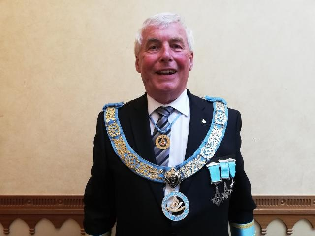 New Provincial Grand Master Installed in the Province of Antrim