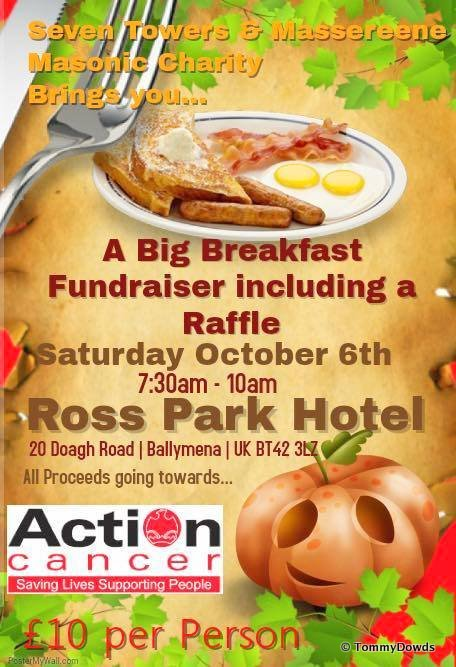 Seven Towers & Massereene Charity Committee Annual Big Breakfast