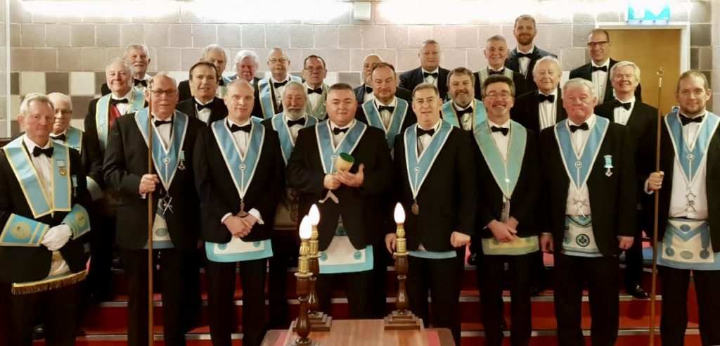 St Andrews Masonic Lodge 1012 installation