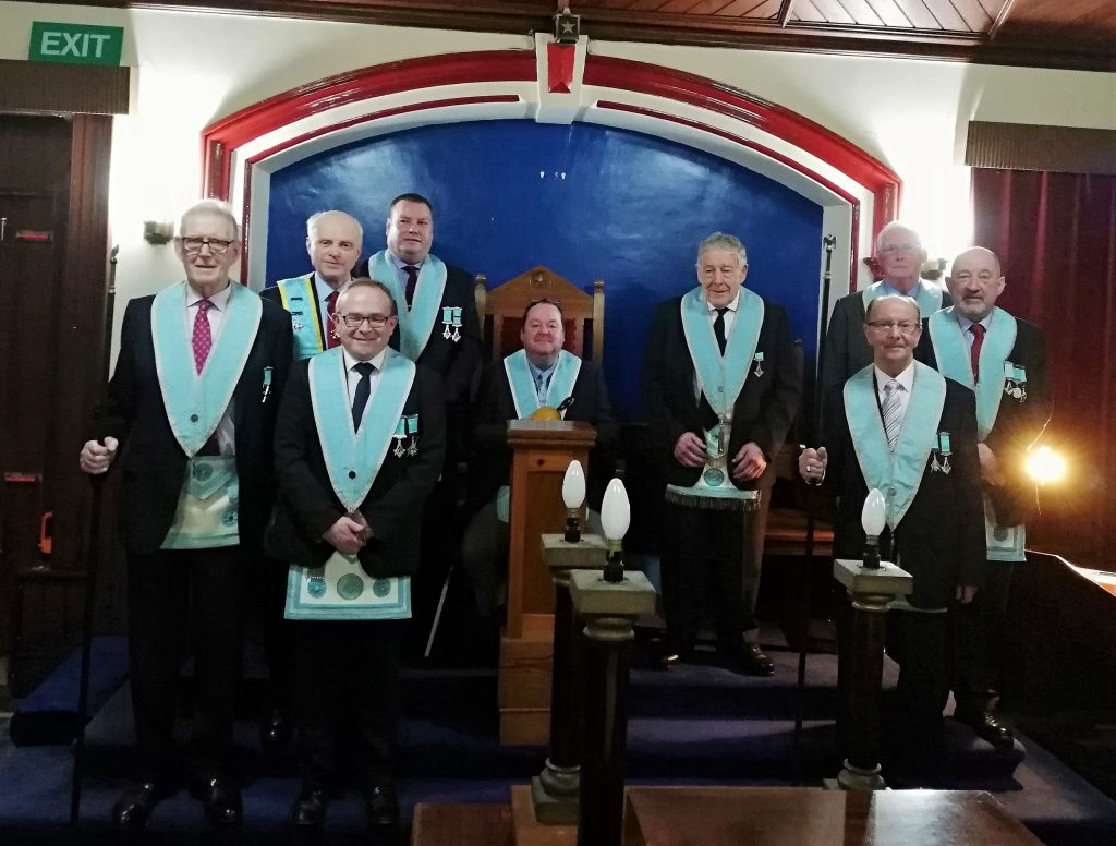 """St. Paul's Lodge"" No. 160, Templepatrick, Closing Meeting"