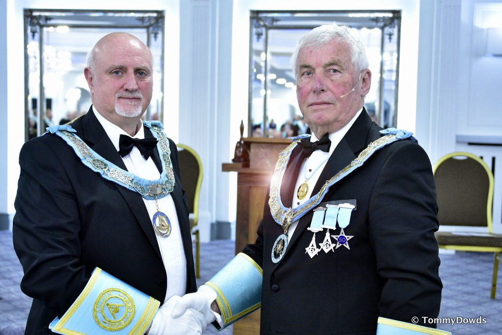 Provincial Grand Lodge Stated Communication & Installation of R.W. Brother J. Edens as Provincial Deputy Grand Master