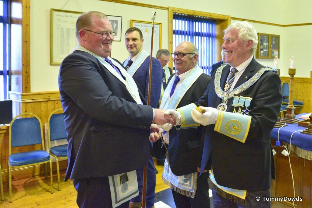 Provincial Grand Master attends his Mother Lodge Chatham 152