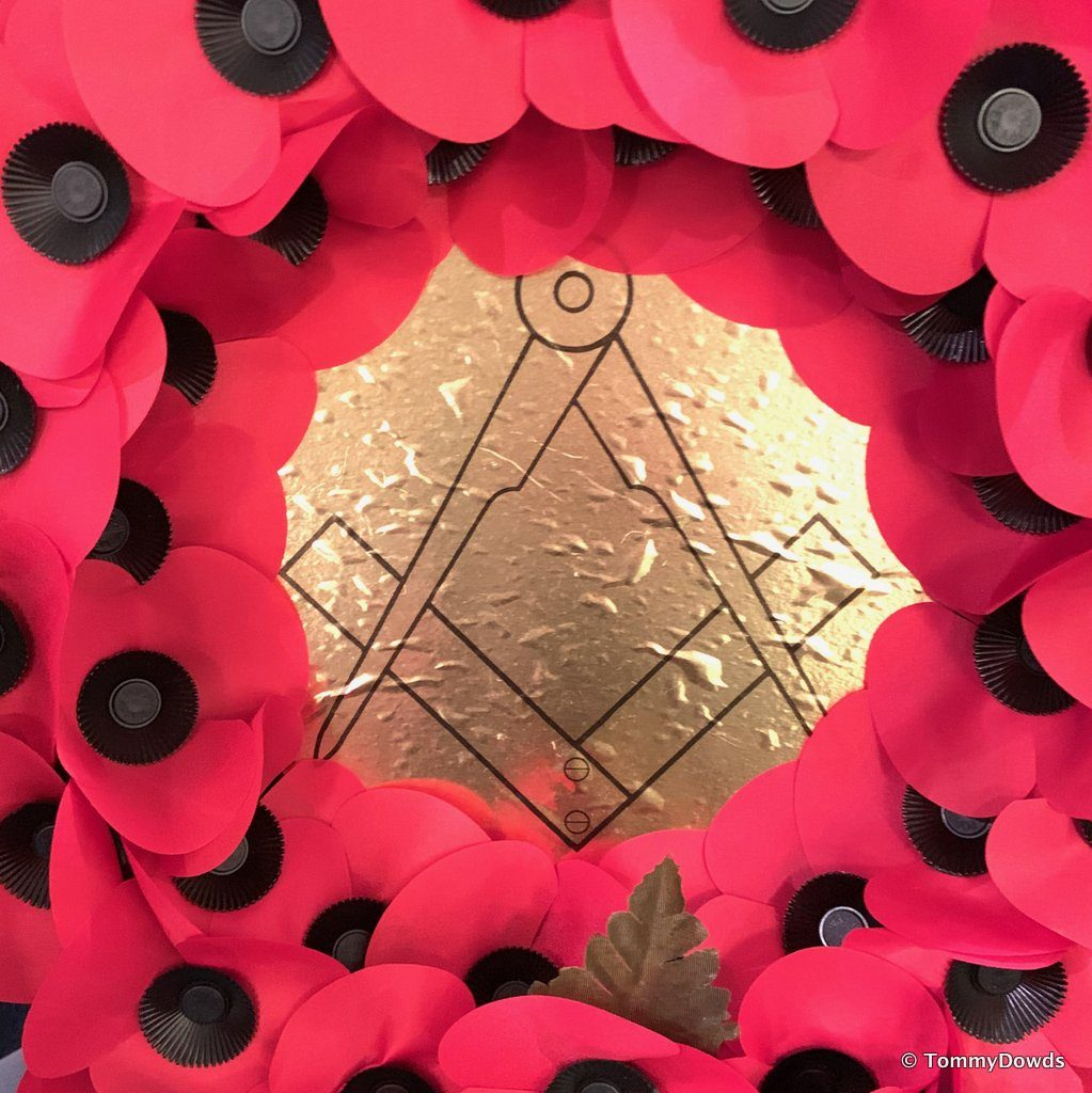 Thiepval Memorial Masonic Lodge No. 1020 Service of Remembrance